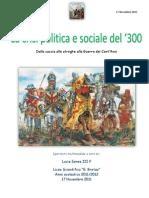 La crisi politica e sociale del'300