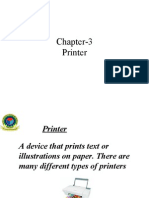 Chapter Printer)