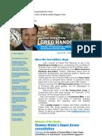 News Bulletin from Greg Hands M.P. #318
