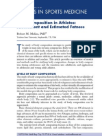 07-Body Composition in Athletes. Assessment and Estimated Fatness