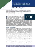 08-Female Athlete Triad Update