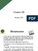 Chapter 4B(Modern CPU)
