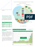 Brazilian Minerals Economy
