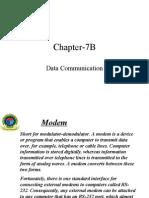 Chapter 7B(Data Communication)