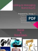 Grp 7 Brand Equity