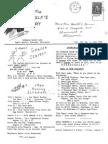 Eagle's Cry, Vol. III, No. 1, June 1966