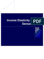 3.1 Income Elasticity of Demand (1)