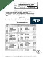 Resolución de Rectoría N°30-2011