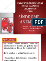 SINDROME ANEMICO