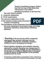 Branding, Pricing PPT