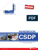 Csdp Handbook