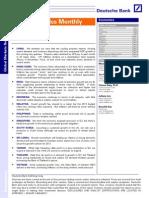 Deutsche Bank Asia Economics Monthly - China