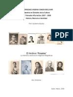 Memoria Colectiva & Fotografía ASchlenker