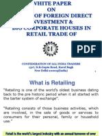 CAIT Whitepaper on FDI in Retail