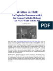 Written in Hell - An Explosive Document Which the Roman Catholic Bishops Do NOT Want You to See