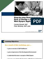 webDynpro stepbystep