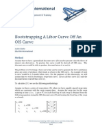 Bootstrapping a Libor Curve Off an OIS Curve