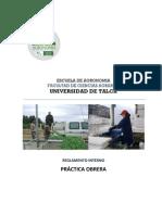 Reglamento Interno Práctica Obrera
