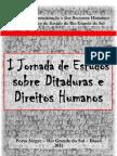 I Jornada Ditaduras e Direitos Humanos