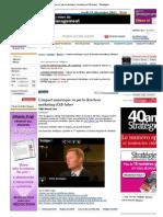 L'impact numérique vu par le directeur marketing d'AB-Inbev - Stratégies