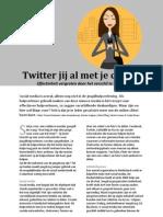 Artikel Twitter Jij Al Met Je Client