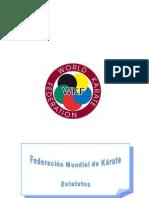 Federación Mundial de Karate - Estatutos
