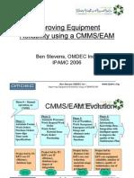 Improving Equipment Reliability using a CMMS-EAM-pr
