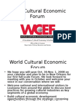 38e074fbd4f World Cultural Economic Forum - WCEF - New Orleans - Oct 30 - Nov 1 -
