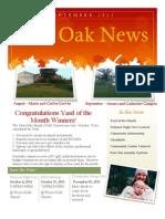 2011 September Post Oak News