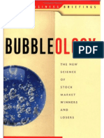 Bubbleology New Science to Stock Market Winners and Losers[1]