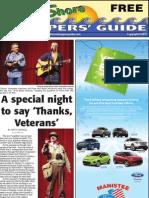 West Shore Shoppers' Guide, November 20, 2011