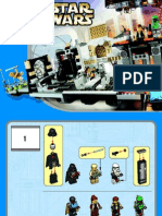 LEGO Cloud City Instruction Manual (10123)