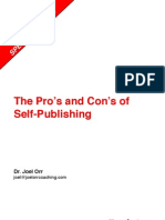 The Pros and Cons of Self-Publishing