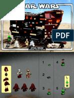LEGO Sandcrawler Instruction Manual (10144)