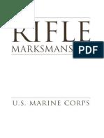 Rifle Marksmanship MCRP 3-01A