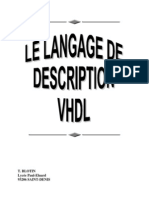 Le Langage de Description VHDL