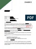 Chase Short Sale Approval Letter