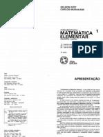 Fundamentos de Matemática Elementar Vol 01 - Conjuntos e Funções