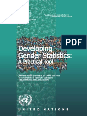 Developing Gender Statistics | Millennium Development Goals