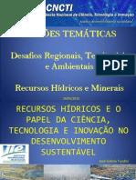 Desafios is Territoriais - Tundisi