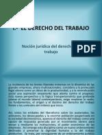 Derecho Del Trabajo i (Agosto-diciembre 2011)(1)