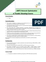 Motorola UMTS NO & TS Course V1.0