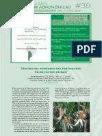 ARTICULO - DESTINO DE NITRATOS Y AMONIACO FORMADOS EN LA FERTILIZACION DEL MAIZ - Destino del nitrógeno del fertilizante en el Maiz - MUY BUENO