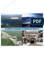 Pumped Storage Hydroelectricity