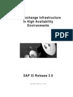 High Availability Guide - SAP XI 03[1].0