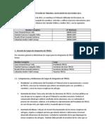 ACTA DE CONSTITUCIÓN DE TRIBUNAL CALIFICADOR DE ELECCIONES 2011
