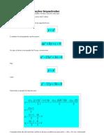 Como resolver equações biquadradas