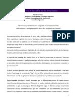 Focusing y La Filosofía de Lo Implícito, por Elena Frezza