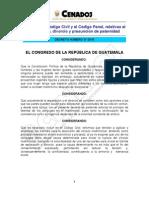 Decreto 27-2010 Reformas Al Codigo Civil