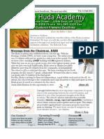 Huda Academy Newsletter 2011
